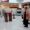 Exhibition of kimonos in the opening of Japanese language courses at UPT