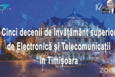 50 years of Electronics and Telecommunications in Timișoara